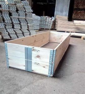 Wooden Packaging Company, Custom Size Wood Pallet Collars,
