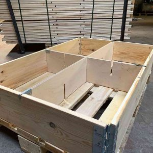 Wooden Packaging Company, Pallet Collar Dividers